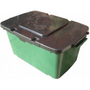 Lid for Multipurpose/kerbside box - single - BLACK