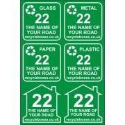 Box & Bin Labels - Set of 6